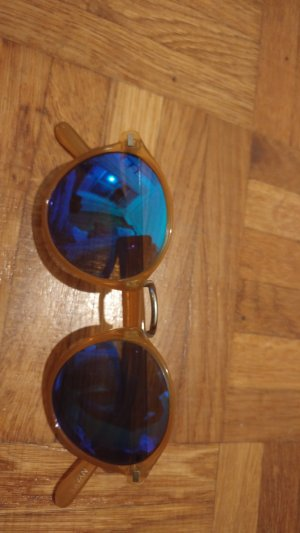 Glasses sand brown-gold orange
