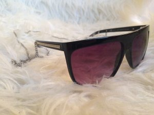 Zara Lunettes de soleil noir-rouge mûre