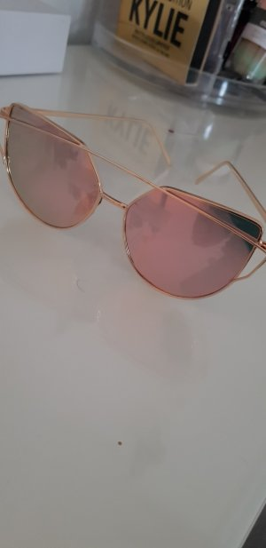& other stories Angular Shaped Sunglasses rose-gold-coloured