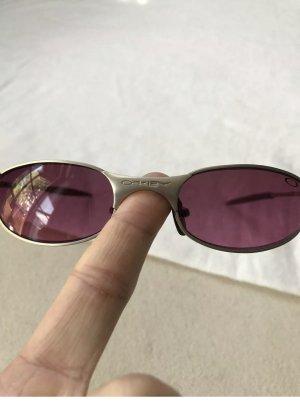 Oakley Gafas de sol cuadradas color plata