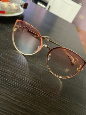 Butterfly Glasses rose-gold-coloured