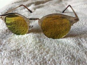 Asos Occhiale stile retro oro