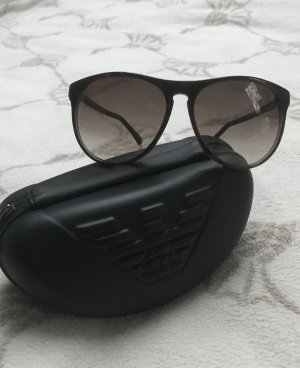 Emporio Armani Occhiale da sole ovale bronzo