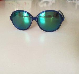 Sonnenbrille blau mit blaue n Gläser n