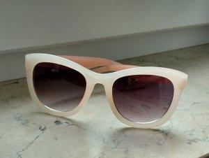 Sonnenbrille blogger rosa Sommer Blogger Boho Hippie Edel