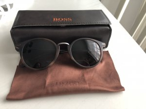 Boss Orange Gafas de sol ovaladas marrón oscuro-marrón