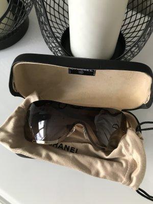 Sonnenbrille braun Chanel