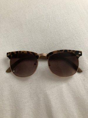 Round Sunglasses dark brown
