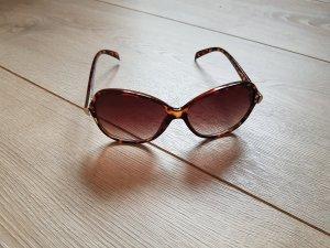 Sonnenbrille braun gold H&M