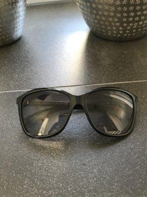 Armani Exchange Ronde zonnebril zwart
