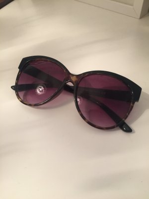 H&M Oval Sunglasses black
