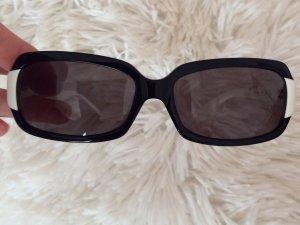 Calvin Klein Retro Glasses black-white synthetic material