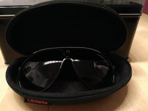 Carrera Glasses white-black synthetic material