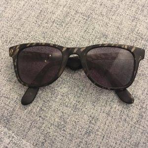 Carrera Occhiale da sole spigoloso nero-bronzo