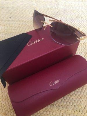 Cartier Occhiale marrone
