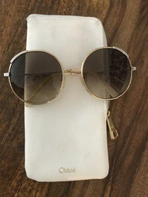 Chloé Ronde zonnebril goud