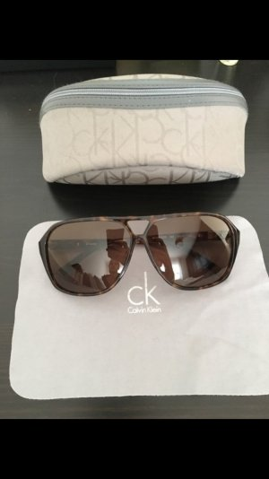 Calvin Klein Sunglasses dark brown-cognac-coloured