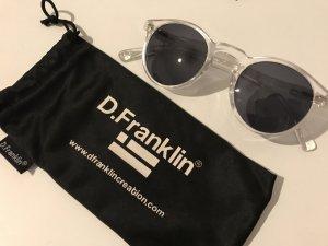 Sonnenbrille D.Franklin, klar/schwarz