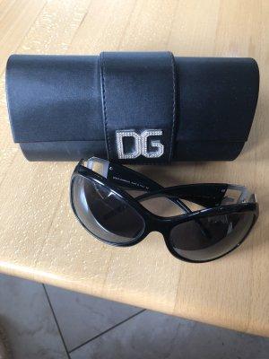 Dolce & Gabbana Lunettes de soleil noir-argenté