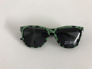 Bril zwart-donkergroen
