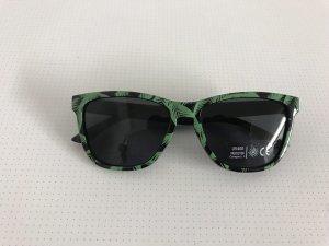 Glasses black-dark green