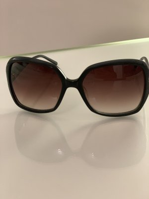 Daniel Hechter Oval Sunglasses black-black brown