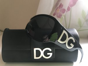 Dolce & Gabbana Glasses black-silver-colored synthetic material