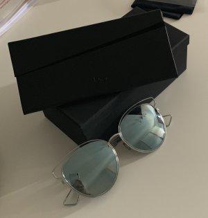 Christian Dior Gafas de piloto color plata-azul pálido