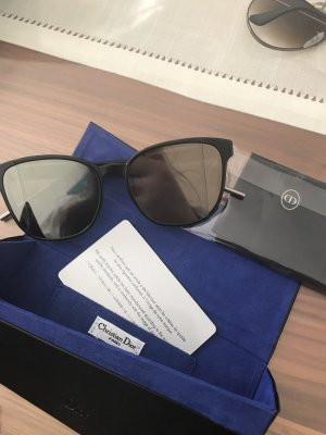 Christian Dior Sunglasses black-silver-colored