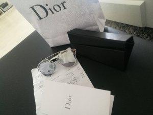 Sonnenbrille, Dior, Silber, chrom