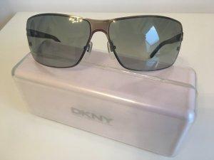 DKNY Occhiale da sole spigoloso argento-nero