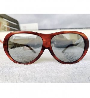 Dolce & Gabbana Sunglasses brown red-silver-colored