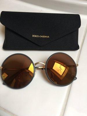 Dolce & Gabbana Round Sunglasses multicolored metal