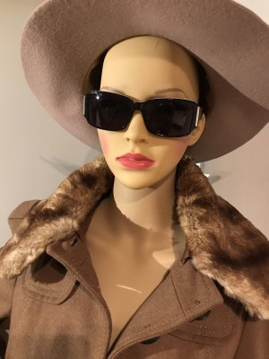 Elle Angular Shaped Sunglasses black-white