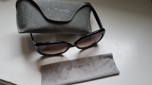 Etro Angular Shaped Sunglasses black-light grey