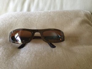 Adidas Oval Sunglasses cognac-coloured