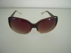 Sonnenbrille Farbverlauf braun