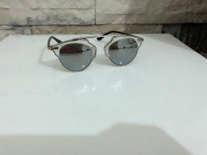Gafas negro-color plata