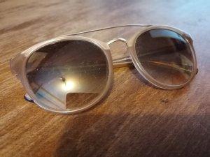 Round Sunglasses grey brown