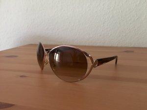 Furla Round Sunglasses light brown-brown