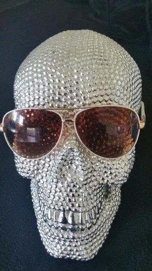 Retro Glasses white