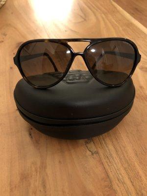 Sonnenbrille Giorgio Armani schwarz
