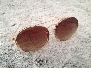 """Sonnenbrille """"gold / braun"""""""