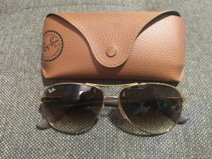 Sonnenbrille Gold Ray Ban