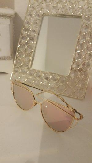 100% Fashion Sunglasses rose-gold-coloured-pink