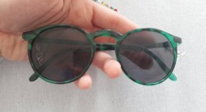 Sunglasses black-dark green