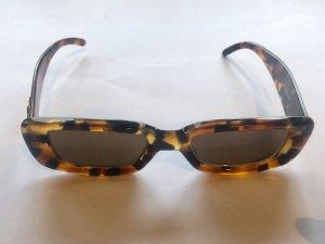 Gucci Angular Shaped Sunglasses brown-bronze-colored