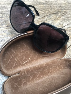 Gucci Retro Glasses brown-dark brown synthetic material
