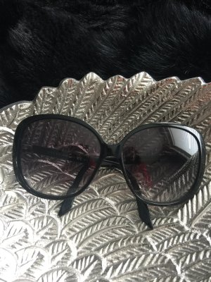 Gucci Lunettes noir matériel synthétique