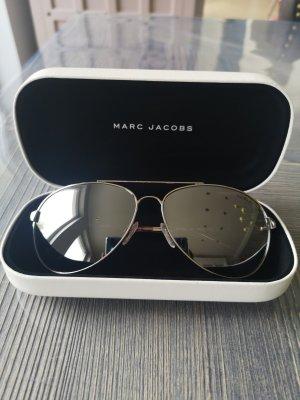Sonnenbrille Guess Pilotenbrille spiegelglas Marc Jacobs Etui